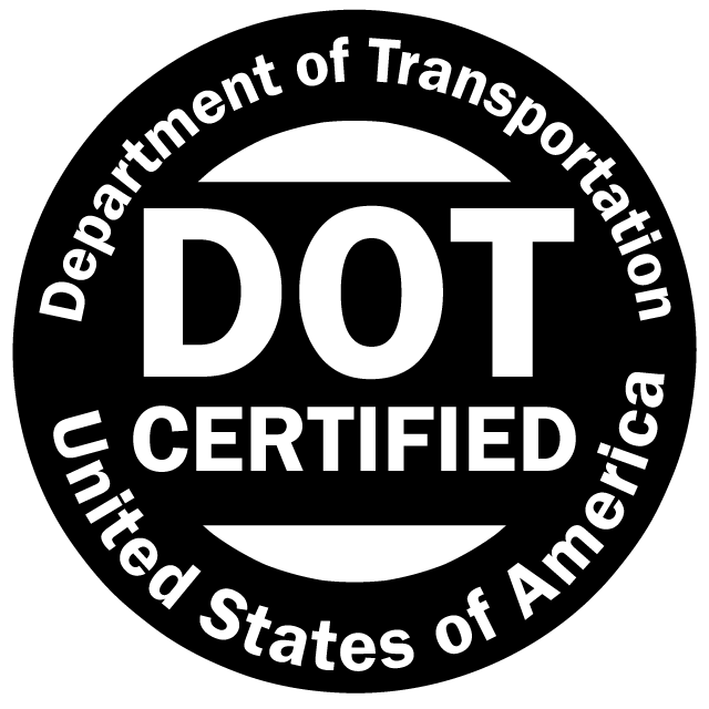 Department of Transportation Certified